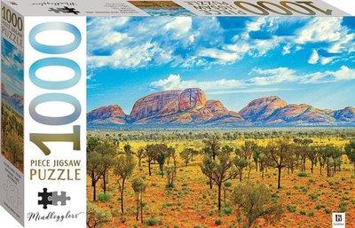 01346 Hinkler Puzzel Uluru-Kata Tjuta bergen Australië 1000 Stukjes