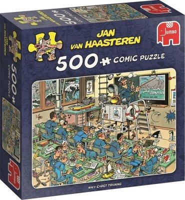 81514 Jumbo Puzzel Jan van Haasteren Navy Cadet Training 500 Stukjes