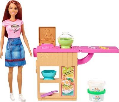 95301 Mattel Barbie Noodlebar Pop en Speelset - Barbiepop