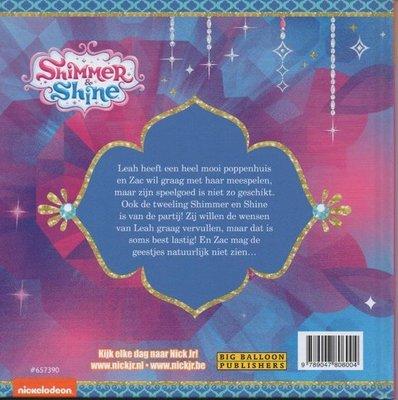 06004 Shimmer & Shine Voorleesboek Het droom poppenhuis