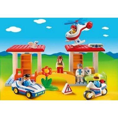 5046 PLAYMOBIL 1.2.3 Politie en Ambulance
