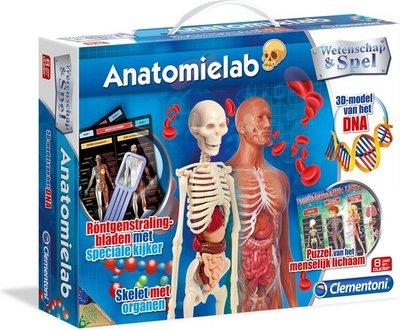 66792 Clementoni Anatomielab - wetenschap & spel