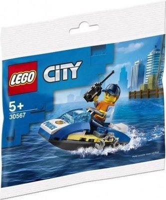 30567 LEGO City Politie Waterscooter (Polybag)