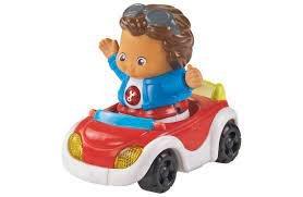 26030 Vtech Baby Toot-Toot Friends Cruise and Go Auto met Figuur + Licht en Geluid
