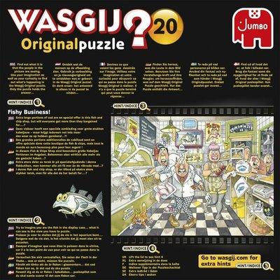 81854 Jumbo Puzzel Wasgij Original 20 Linke Soep! 500 stukjes