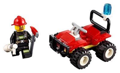 30361 LEGO City Brandweer Quad (Polybag)