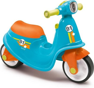 10012 Smoby Blauwe Loopscooter