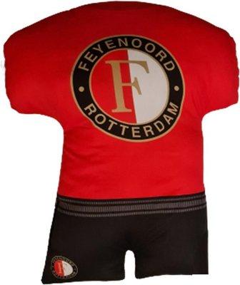 39799 Feyenoord tenue 3D kussen 30 cm
