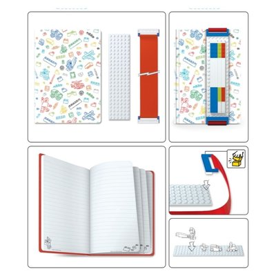 15256 LEGO Notitieboek