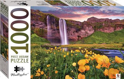 00363 Hinkler Puzzel Seljalandsfoss IJsland 1000 Stukjes