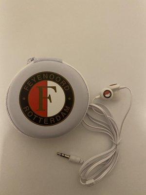 34176 Feyenoord Oordopjes Met Opbergcase
