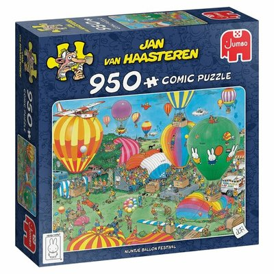 81853 Jumbo Jan Van Haasteren Puzzel Nijntje Ballon Festival 950 Stukjes