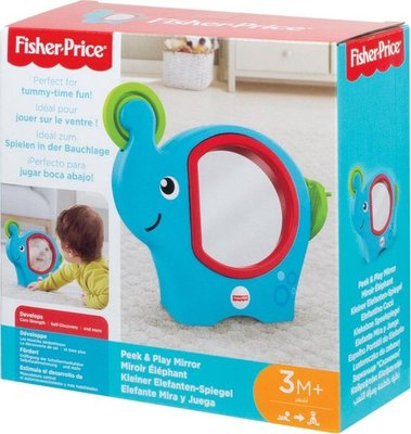 30937 Fisher-Price Baby Spiegel olifant