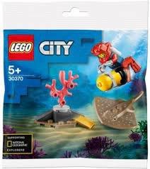 30370 LEGO City Diepzee Duiker(Polybag)