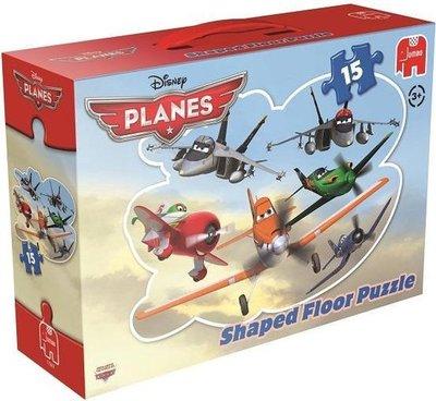 17367 Jumbo Vloerpuzzel Planes 15 Stukjes