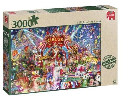 81863 Jumbo a Night at the Circus Puzzel 3000 stukjes