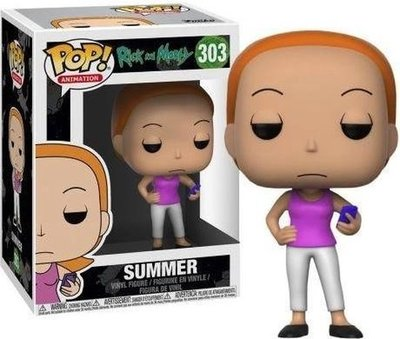 303 Funko Pop! Animation Rick And Morty Summer
