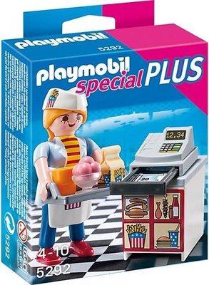 5292 PLAYMOBIL Special Plus Serveerster met kassa