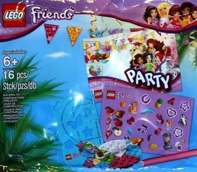 5002928 LEGO Friends Party Pack (Polybag)