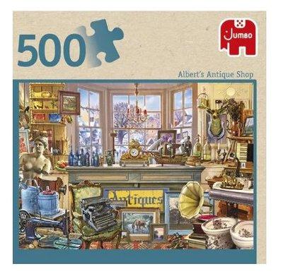 81893 Jumbo Puzzel  Albert's Antique Shop 500 Stukjes
