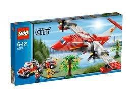 4209 LEGO City Brandweer Blusvliegtuig
