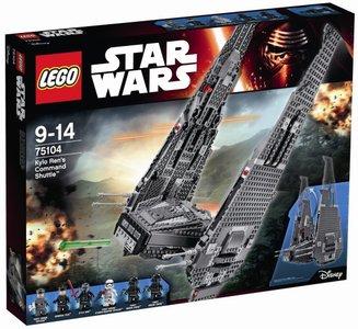 75104 LEGO® Star Wars™ Kylo Rens Command Shuttle