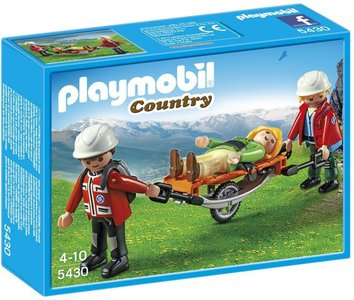 5430 Playmobil Reddingsteam met Brancard