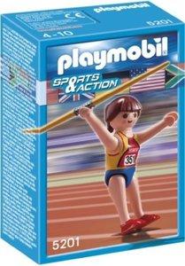 5201 Playmobil Speerwerpster