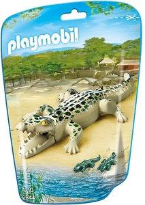 6644 Playmobil Alligator met baby's