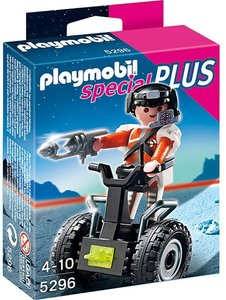 5296 Playmobil Top Agent met Balans Racer