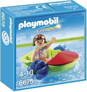 6675 Playmobil Waterfiets