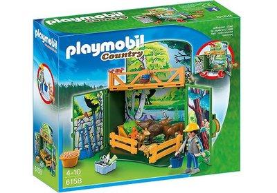 """6158 Playmobil Speelbox """"Leven in het bos"""""""