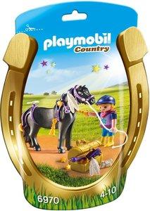 "6970 Playmobil Pony om te versieren ""Ster"""