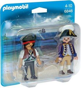 6846 Playmobil Duopack piraat en soldaat