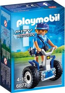 6877 Playmobil Politieagente met balans racer