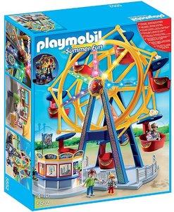 5552 Playmobil Kermis Groot draairad met kleurrijke verlichting
