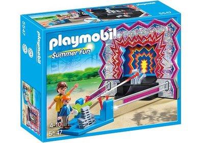 5547 Playmobil Kermis Blikken omgooien