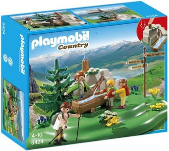 5424 Playmobil Lentewandeling in de Bergen
