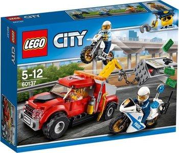 60137 LEGO® City Sleeptruck probleem