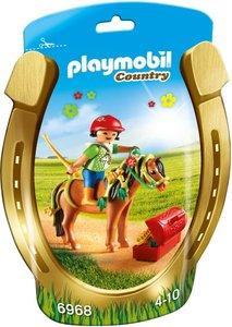 "6968 Playmobil Pony om te versieren ""Bloem"""