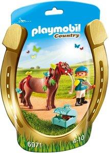 "6971 Playmobil Pony om te versieren ""Vlinder"""