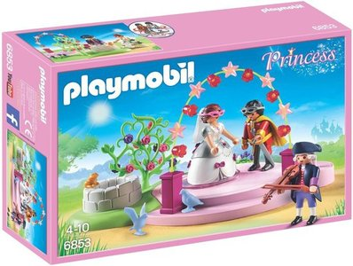 6853 Playmobil Gemaskerd koninklijk paar