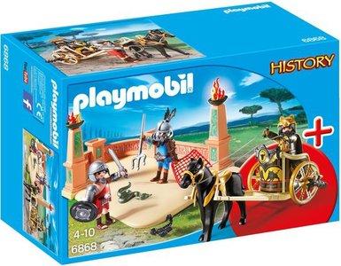 6868 Playmobil StarterSet Arena met gladiatoren