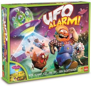 70172 Goliath UFO Alarm! - Gezelschapsspel