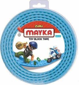 10083 Zuru-Mayka Block Tape 2 Noppen 2m licht blauw